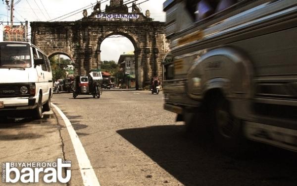 Pagsanjan arch of Pagsanjan, Laguna