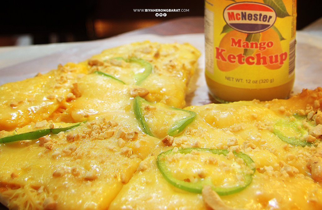 Guimaras Jordan The PItstop where to eat restaurant mango pizza ketchup