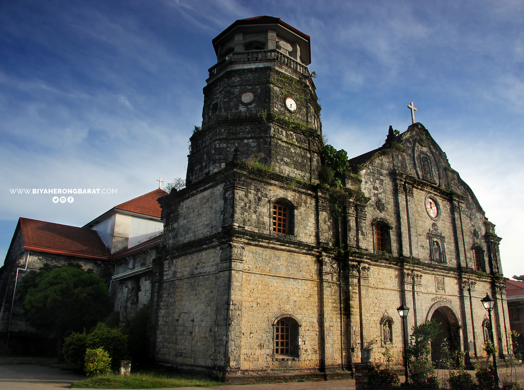 Santa Monica Parish Church Pan-Ay Capiz Philippines Visayas