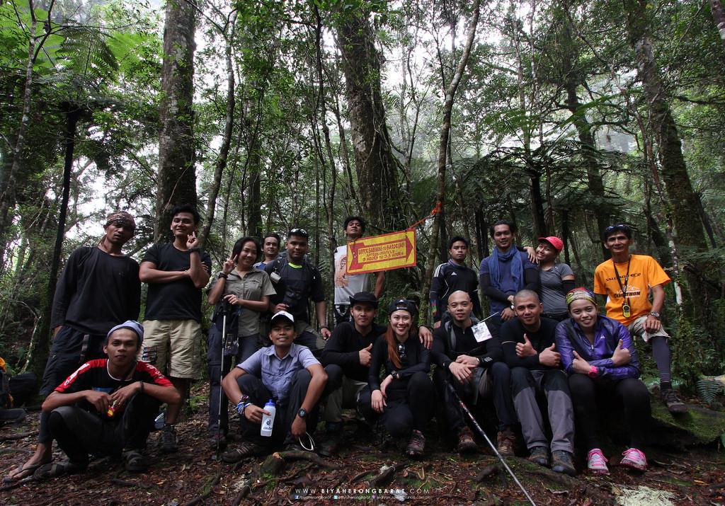 Upper Sabwan to Baroring rest area mount apo digos davao del sur philippines