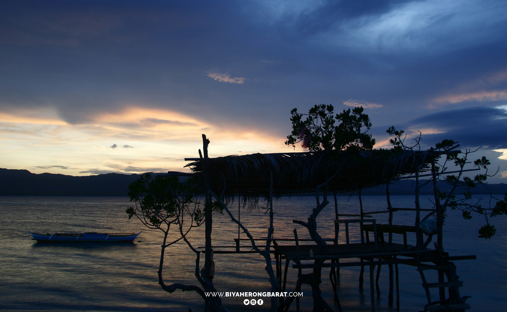 Alibijaban Island San Andres Quezon beach mangrove sunrise