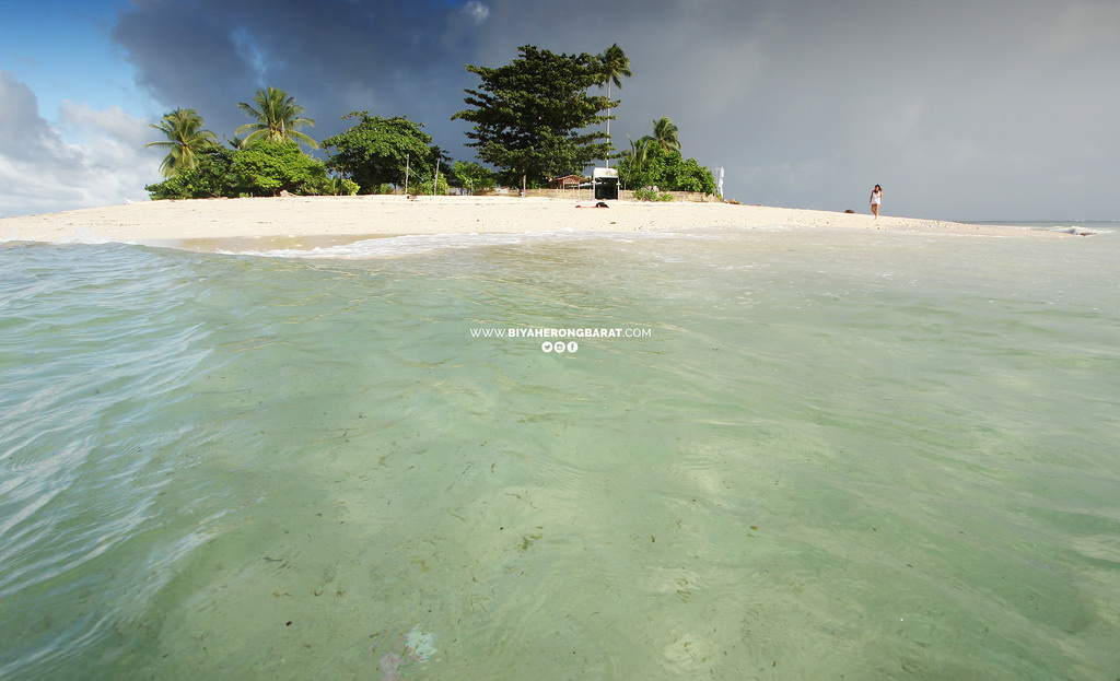san victor island white sand beach baganga davao oriental