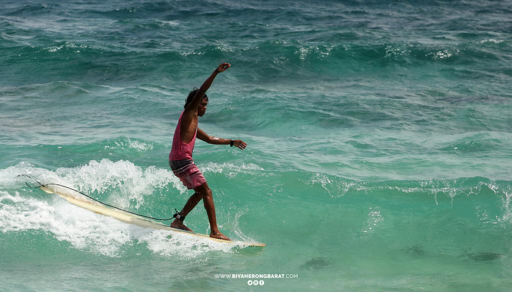 surfing mati beach davao oriental philippines