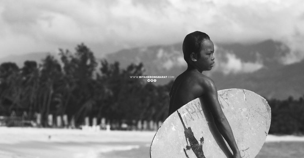 skimboarding mati city dahican philippines davao oriental beach