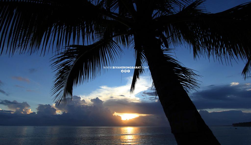 sunrise dahican beach mati city davao oriental philippines