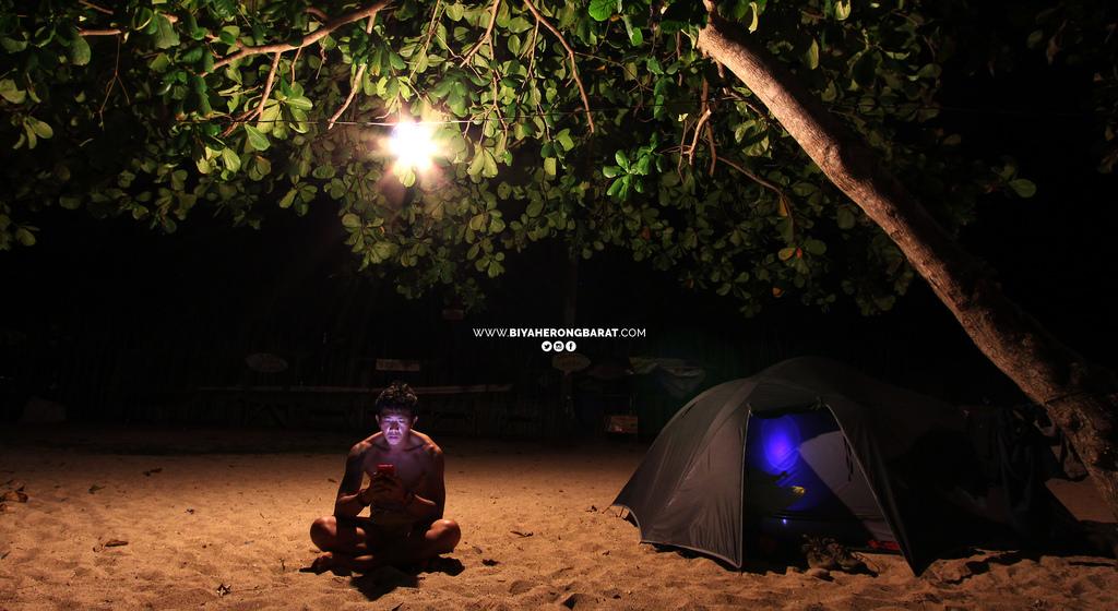 camping in amihan dahican beach mati davao oriental philippines