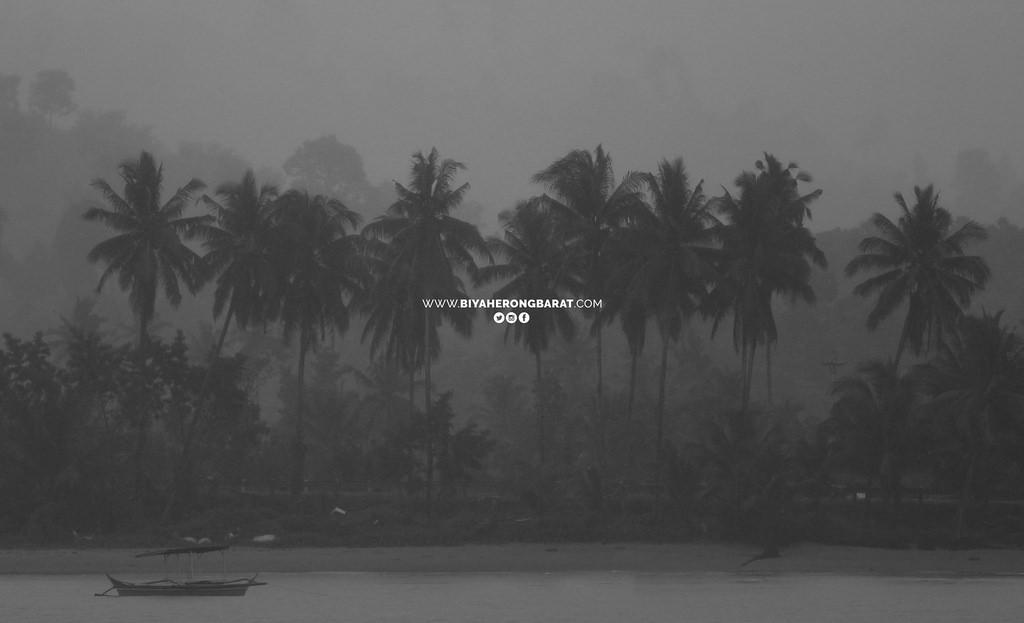 baganga davao oriental beach philippies storm