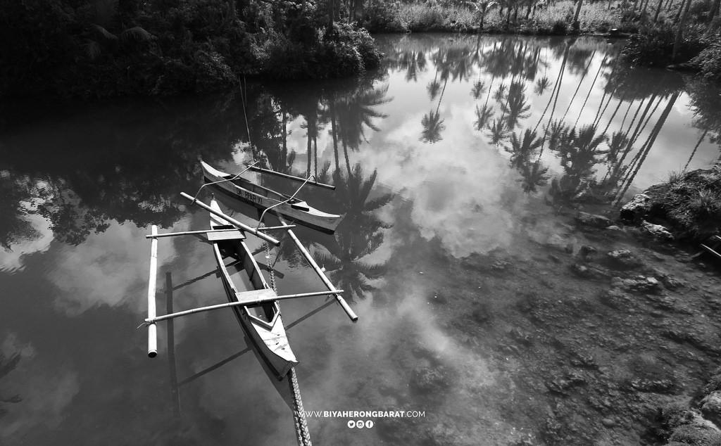 carolina lake baganga davao oriental philippines clean lake