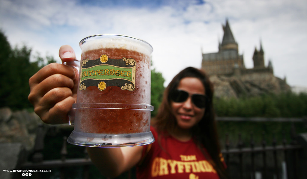 butter beer Wizarding World of Harry Potter Universal Studios Japan Osaka Cebu Pacific