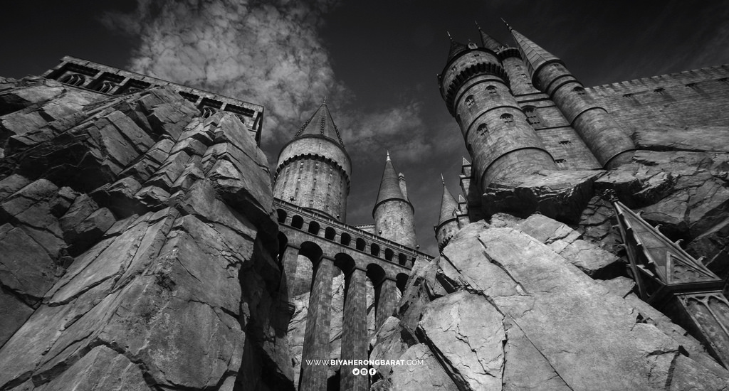 Wizarding World of Harry Potter Universal Studios Japan Osaka Cebu Pacific Hogwarts Castle