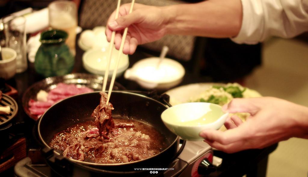 omigyu wagyu omi beef sukiyaki jiku kappo sara shiga yasu shi where to eat wagyu