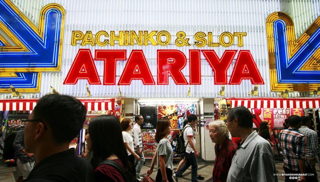 pachinko slots atariya osaka japan cebu pacific travel