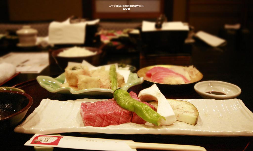 omi beef ohmi-gyu wagyu Shiga yasu where to eat kansai Jiku Kappo Sara